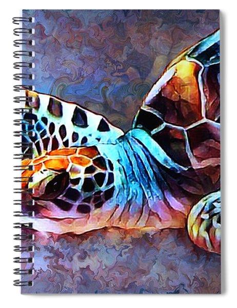 Deep Sea Trutle Spiral Notebook