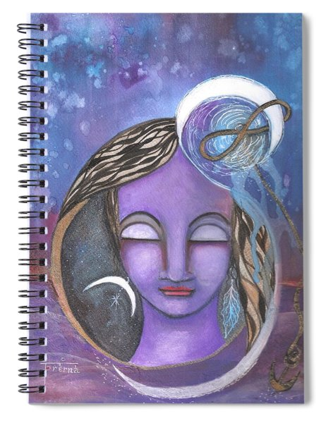 Deep Within Spiral Notebook