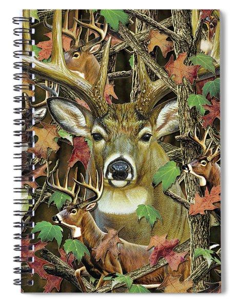 Deer Camo Spiral Notebook