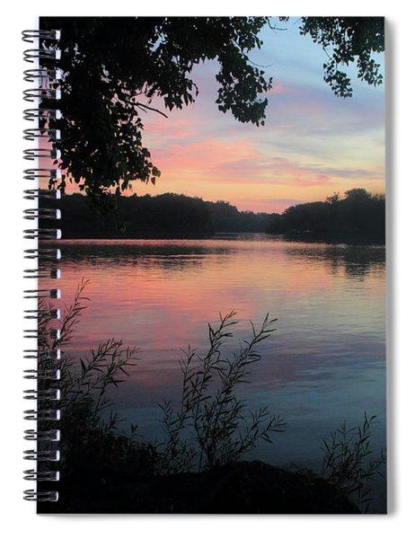 Deer Creek At Sunrise Spiral Notebook