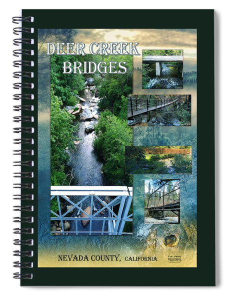Deer Creek Bridges Spiral Notebook