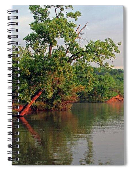 Deer Creek Shoreline Spiral Notebook