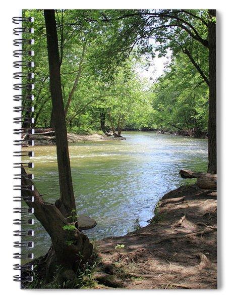 Deer Creek Wildlife Area Spiral Notebook