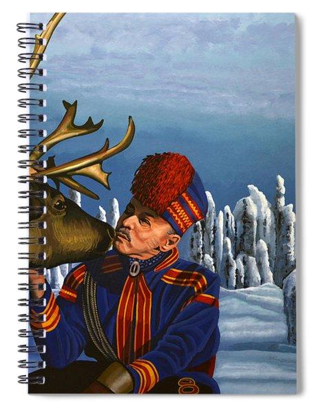 Deer Friends Of Finland Spiral Notebook