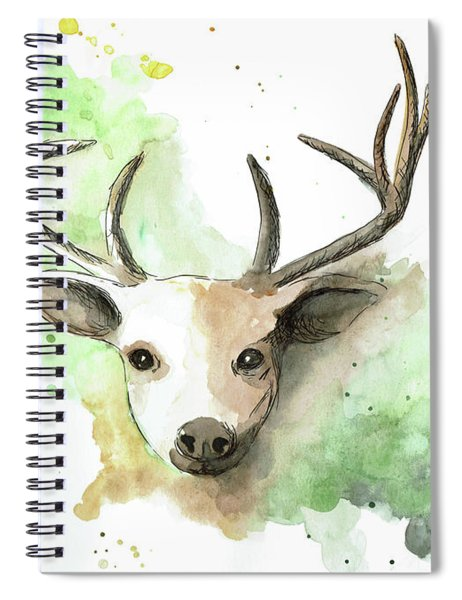 Deer II Spiral Notebook