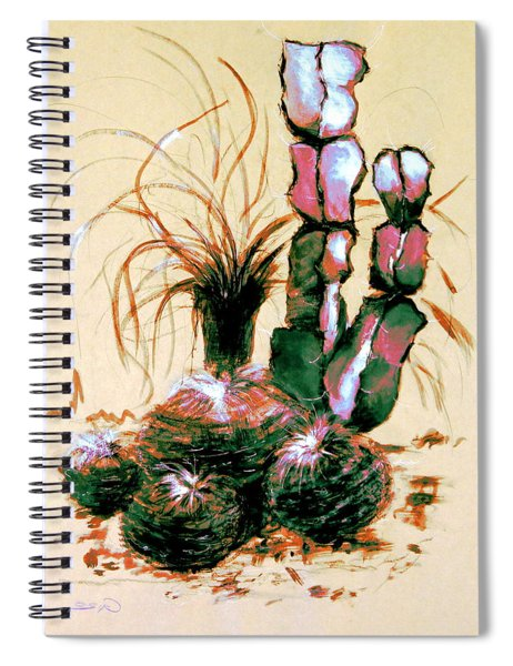 Defender Of The Desert 1.1 Spiral Notebook