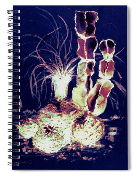 Defender Of The Desert 2.0 Spiral Notebook
