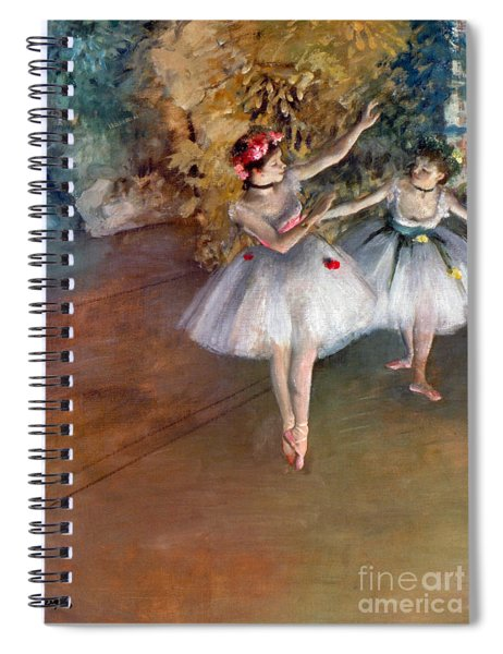 Degas: Dancers, C1877 Spiral Notebook