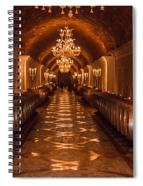 Del Dotto Wine Cellar Spiral Notebook
