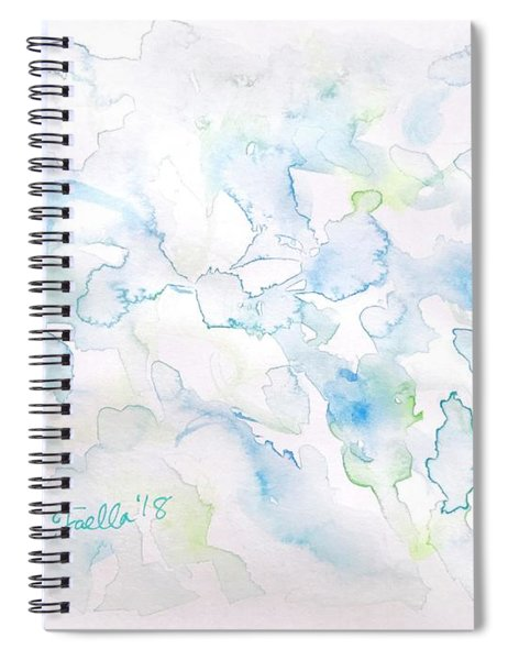 Delicate Elegance Spiral Notebook