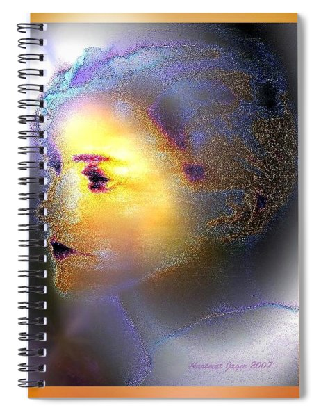 Delicate  Woman Spiral Notebook