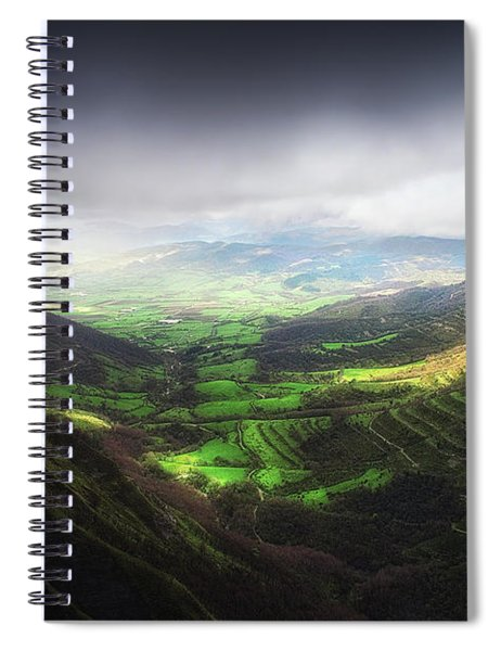 Delika Canyon Spiral Notebook