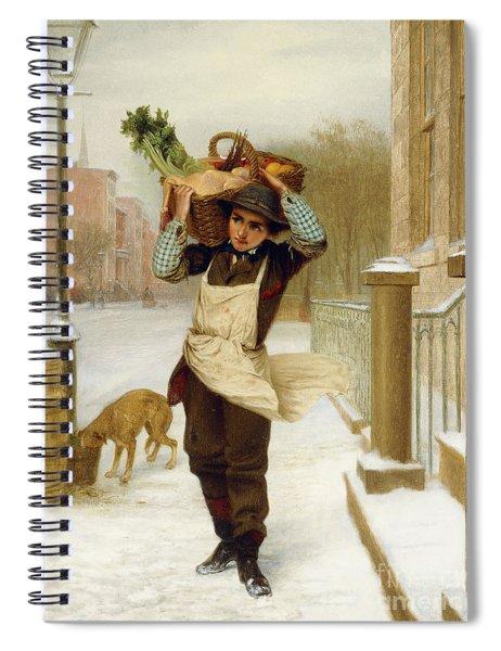 Delivery Boy  Spiral Notebook