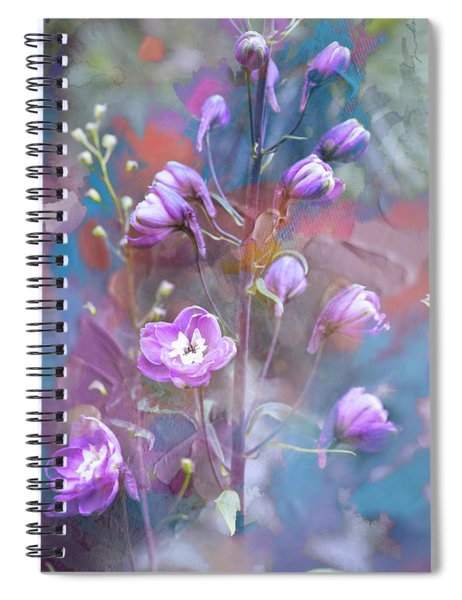 Delphinium Dream Spiral Notebook