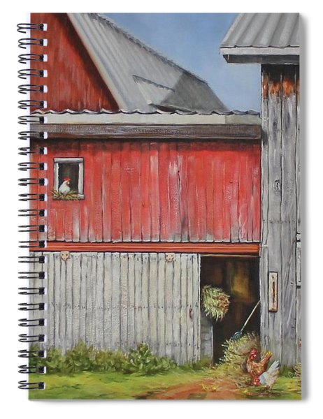 Deluxe Accommodations Spiral Notebook