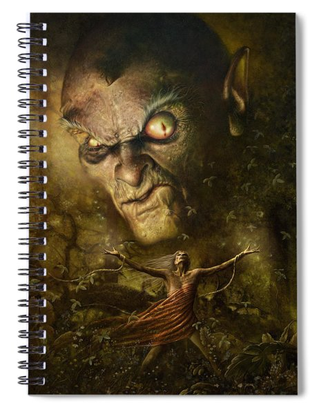 Demonic Evocation Spiral Notebook