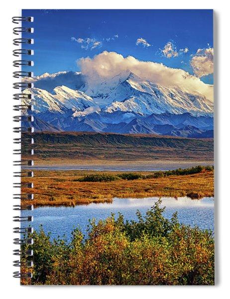 Denali, The High One Spiral Notebook