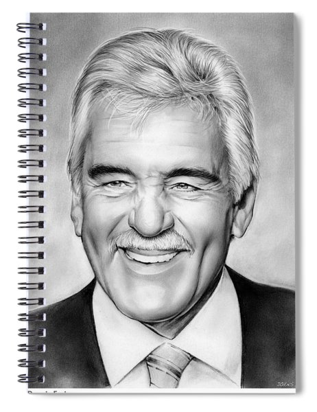 Dennis Farina Spiral Notebook