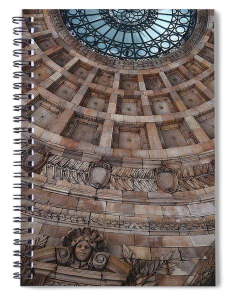 Dense Tremble Of Silence Spiral Notebook