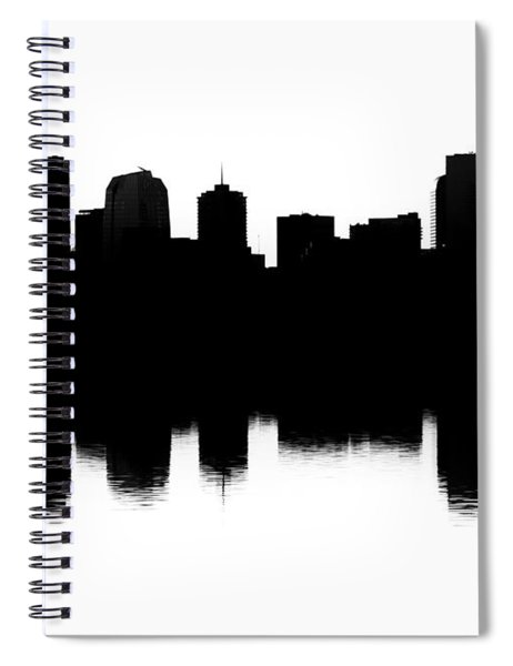 Denver Silhouette Spiral Notebook