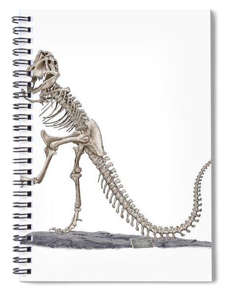 Denvers Dancing T Rex Spiral Notebook