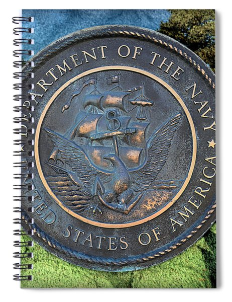 Department Of The Navy - United States Spiral Notebook