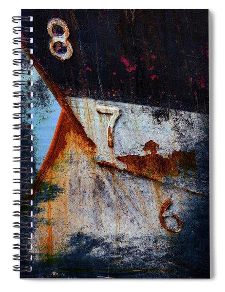 Depth Markers Spiral Notebook