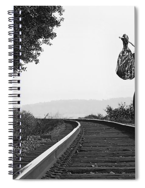 Derailed Spiral Notebook