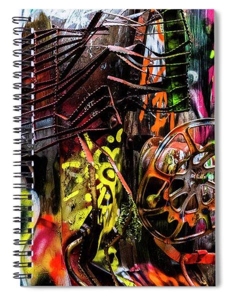 Derailed Jungle Spiral Notebook