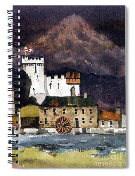 Deridelsford Castle Bray 1259ad Spiral Notebook