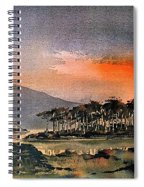 Derryclare Lough, Galway...dscfoo87 Spiral Notebook