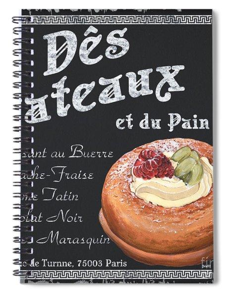 Des Gateaux Spiral Notebook