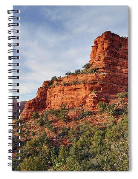 Descending Doe Mountain  Spiral Notebook