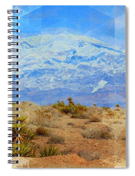Desert Contrasts Spiral Notebook by Michelle Dallocchio