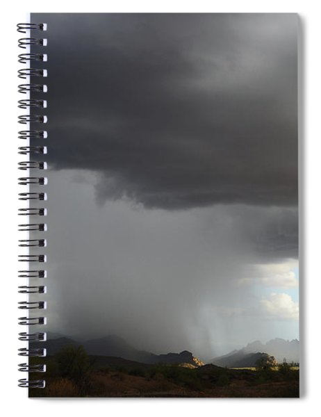 Desert Downpour Spiral Notebook