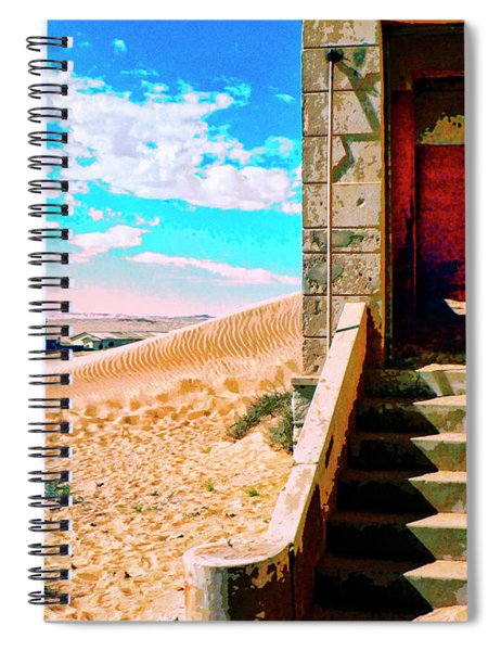 Desert Dreamscape 5 Spiral Notebook