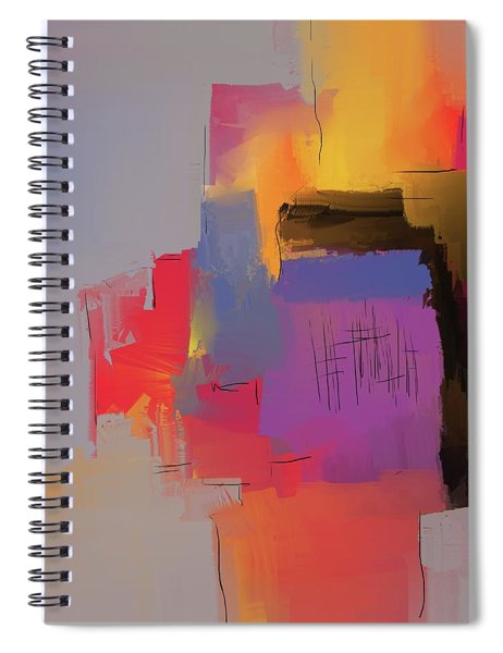 Desert Evening Spiral Notebook