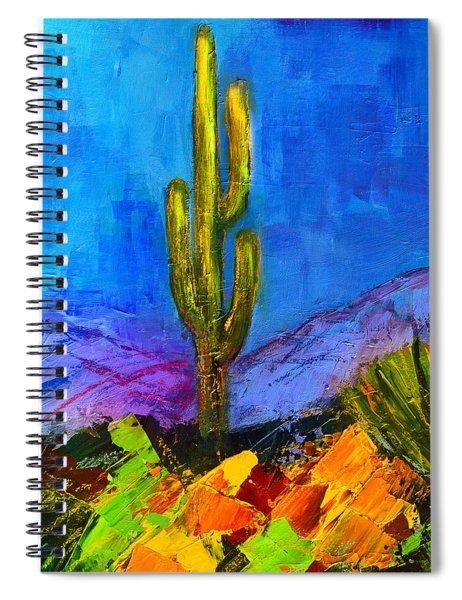 Desert Giant Spiral Notebook