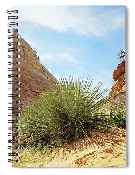 Desert Greenery Spiral Notebook