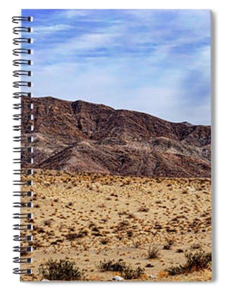 Desert Roads 2 Spiral Notebook