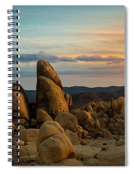 Desert Rocks Spiral Notebook