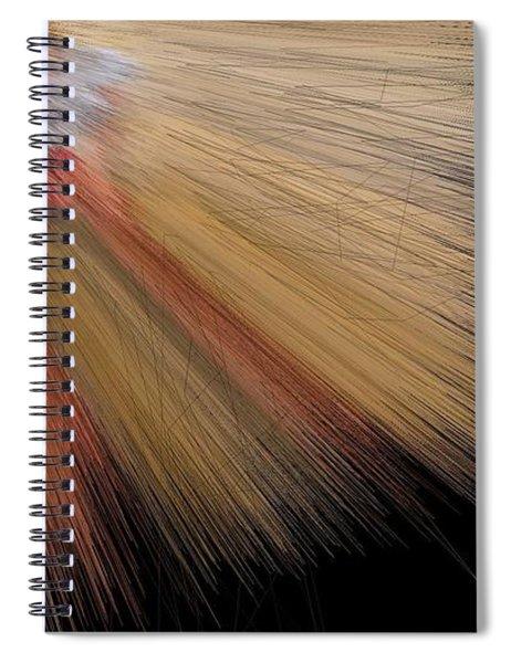 Desert Salmon Fisher Angel Spiral Notebook