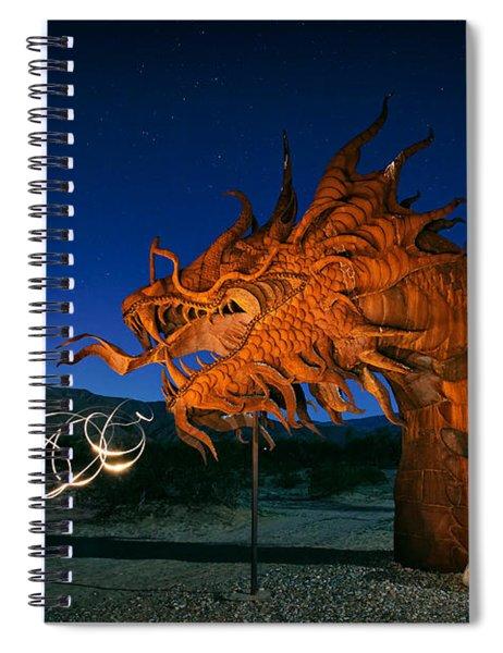 Desert Serpent Spiral Notebook