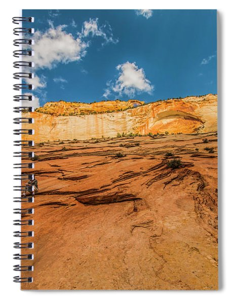 Desert Solitaire With A Friend Spiral Notebook