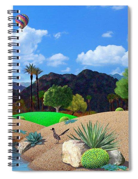 Desert Splendor Spiral Notebook