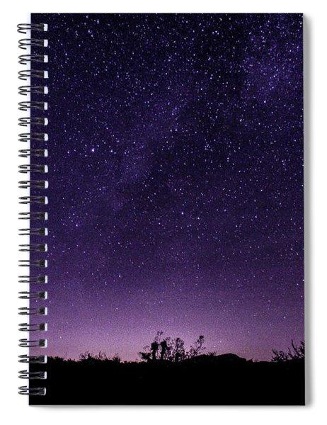 Desert Starscape Spiral Notebook