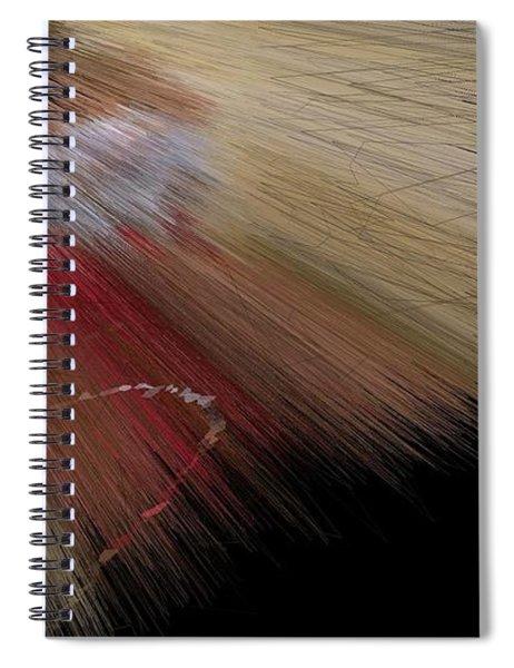 Desert Strawberry Hunter Angel Spiral Notebook