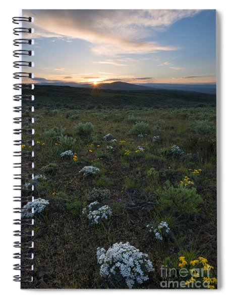Desert Sunburst Spiral Notebook