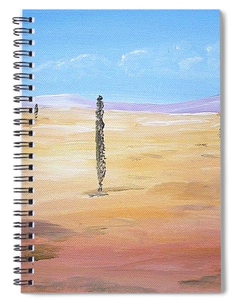 Desert - Surreal Spiral Notebook