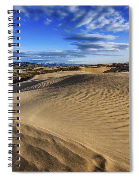 Desert Texture Spiral Notebook